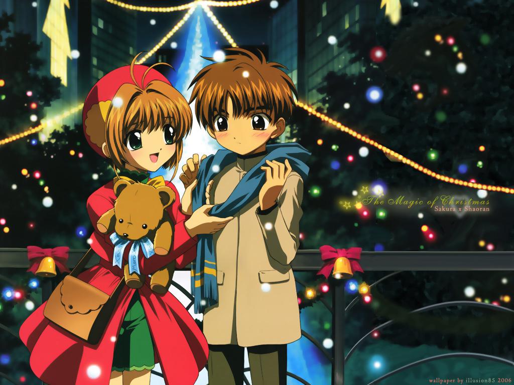 Resultado de imagen para anime navidad